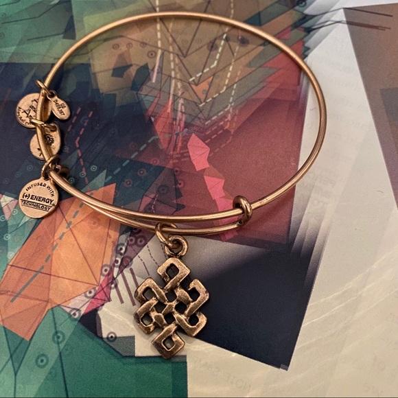 Alex and Ani Jewelry - Alex and Ani Endless Knot Charm Bracelet